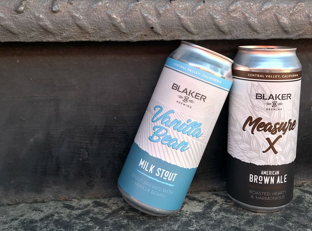 Blaker Brewing Cans
