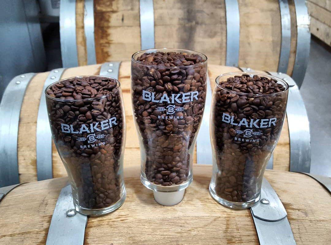 Blaker Brewing Logo Glasses