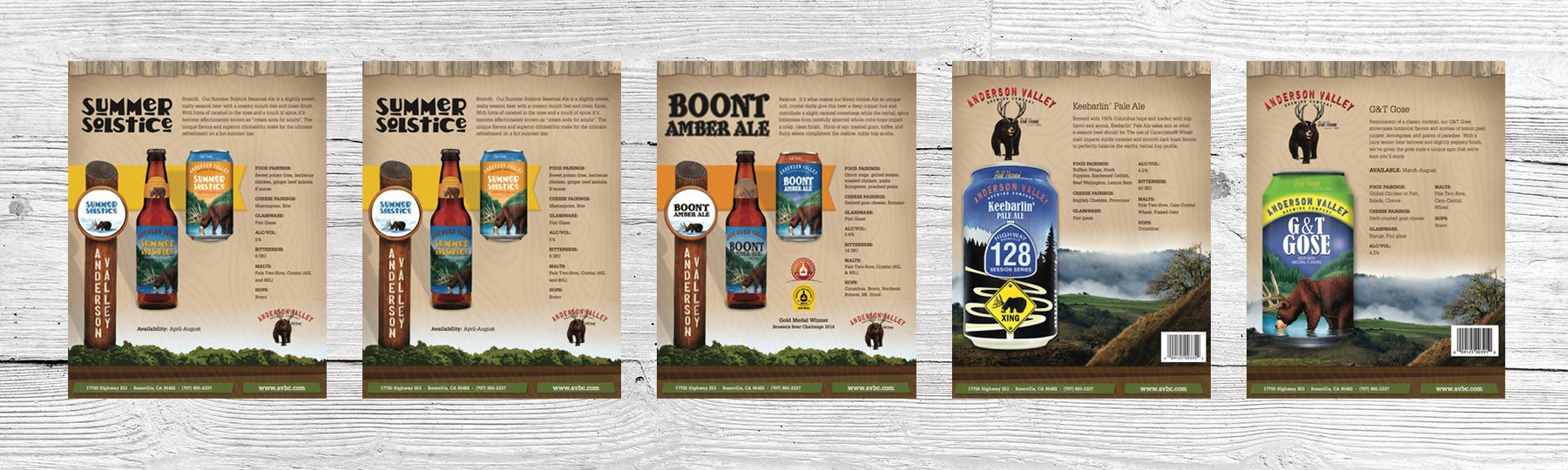 Brewery Marketing Materials - Sales Sheets
