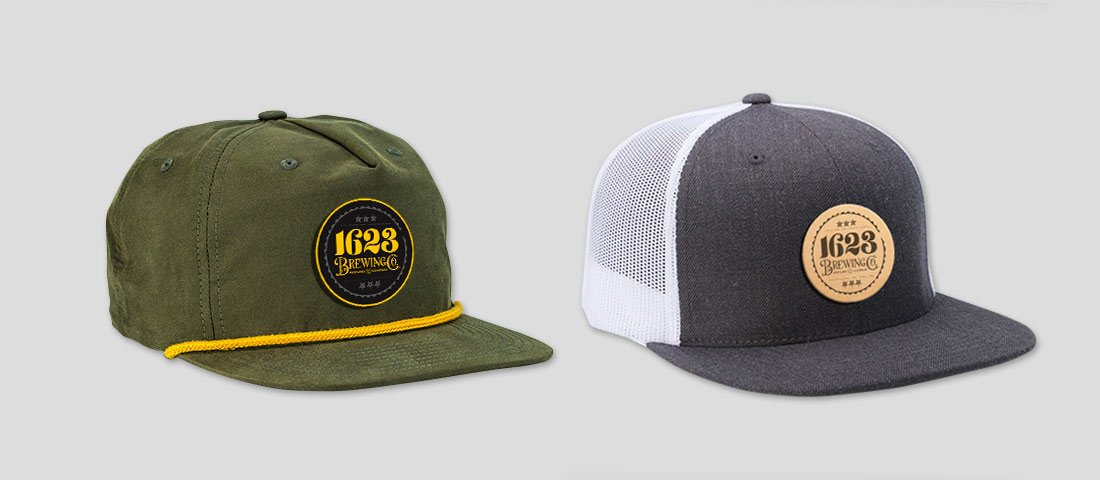 1623 Brewing Co Hat Designs