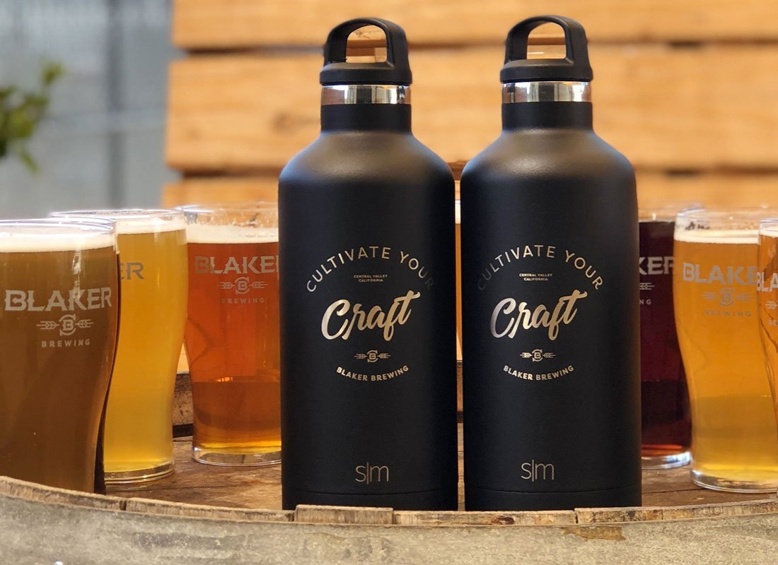Blaker Brewing 32oz Growler