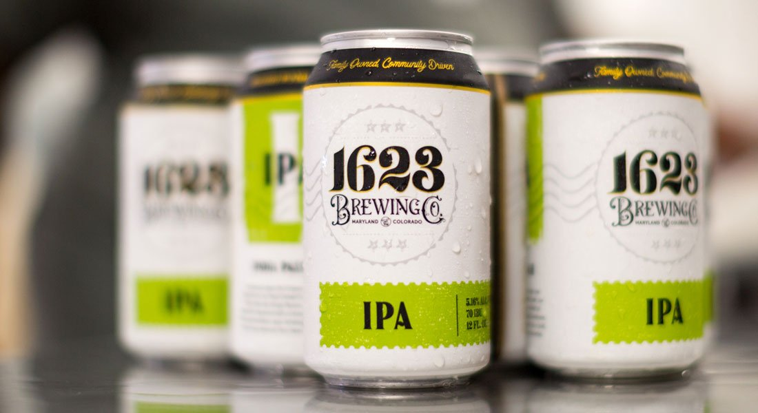 1623 Brewing Co IPA Cans