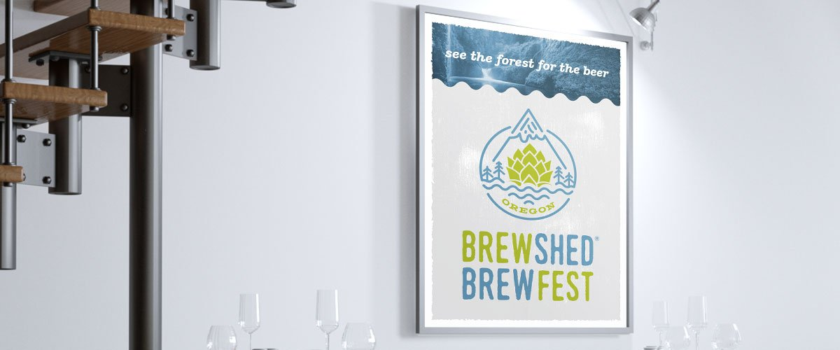 Brewshed Brewfest simple poster