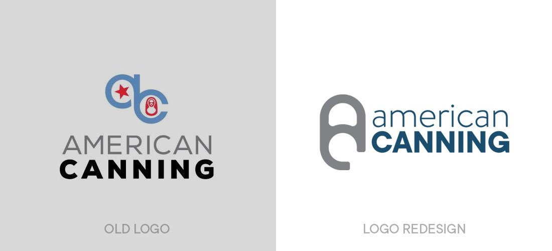 American Canning Logo Redesign