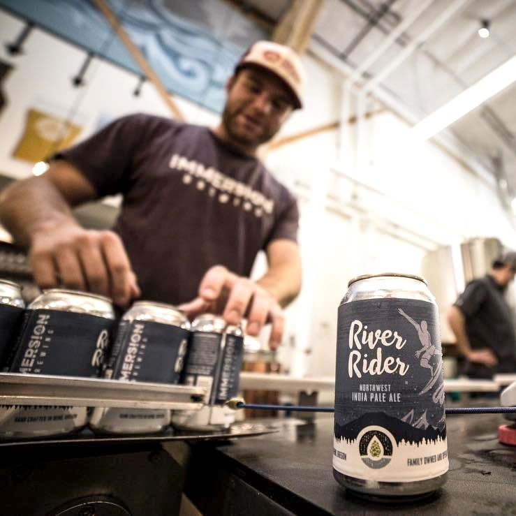 Immersion Brewing River Rider Canning