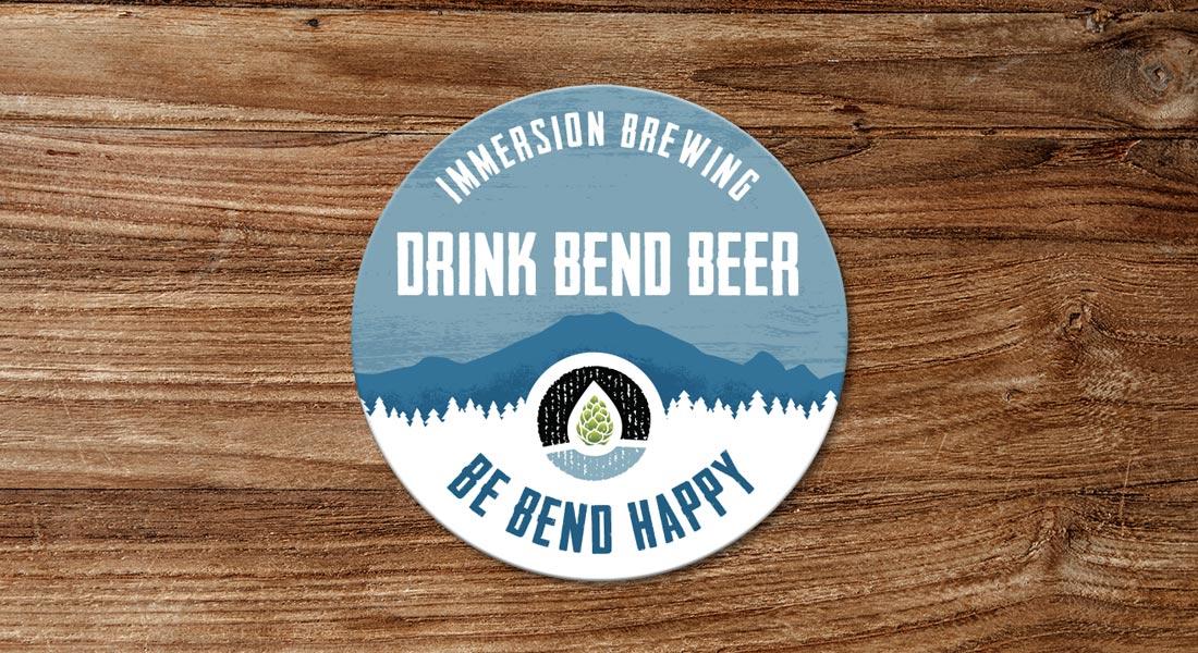 Drink Bend Beer, Be Bend Happy