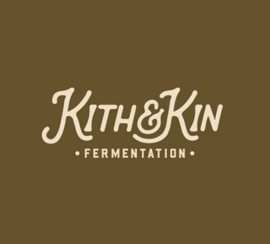 Kith & Kin Fermentation simple logo