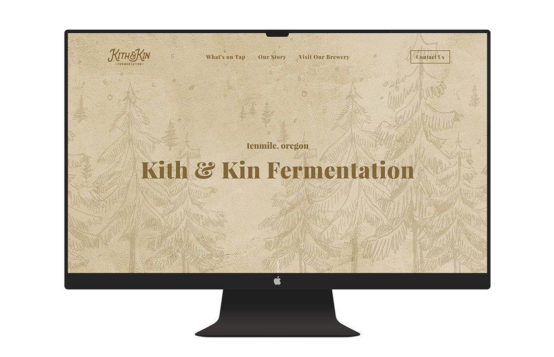 Kith & Kin Fermentation Website